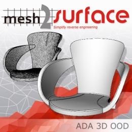 リバースソフトウェアMesh2Surface