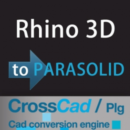 Rhino 3D to PARASOLID